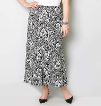 Avenue Paisley Maxi Skirt