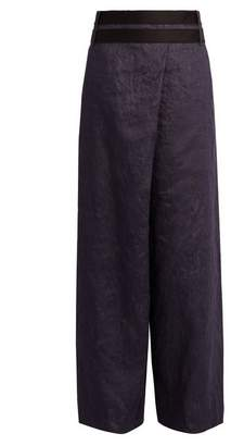 Amanda Wakeley - Echo Wide Leg Denim Trousers - Womens - Denim