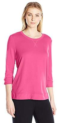 Karen Neuburger Women's 3/4 Sleeve Top Pajama Shirt Pj