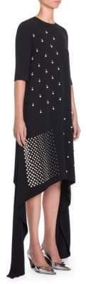 Stella McCartney Pearl-Embellished Shift Dress