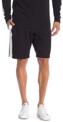 True Religion Side Stripe Knit Sweat Shorts