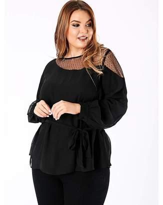 1aeee802683de Plus Size Mesh Top - ShopStyle UK