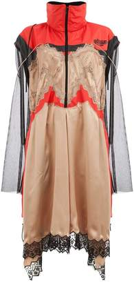 Maison Margiela lace insert techno dress