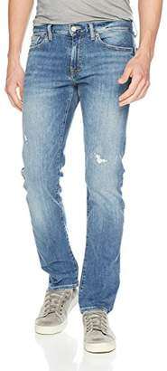 Armani Exchange A|X Men's Light wash Distressed 5 Pocket Jeans