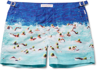 Orlebar Brown Setter Short-Length Printed Swim Shorts $345 thestylecure.com