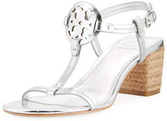 Tory Burch Miller Metallic Espadrille Sandal