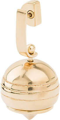 Loewe Stone Fruit gold-plated earring, Gold
