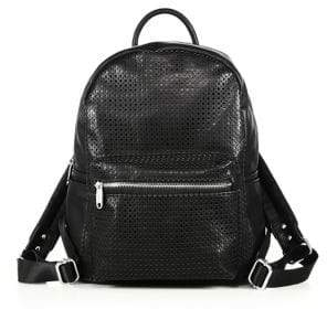 Urban Originals Lola Perforated Faux Leather Backpack