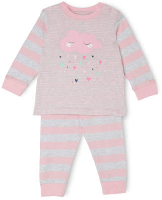 Sprout NEW Girls Pajama Set Lt Pink