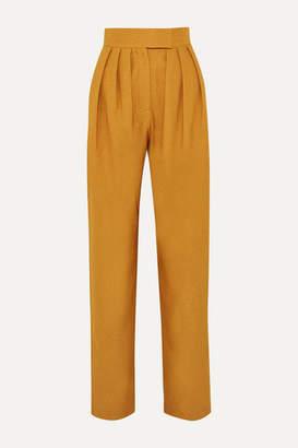 MATÉRIEL Pleated Twill Pants - Saffron