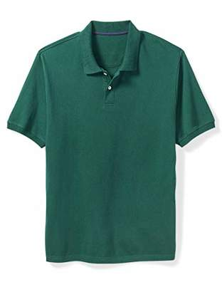 fadeca9962d Amazon Essentials Men's Big & Tall Cotton Pique Polo Shirt fit ...