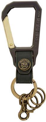 Master-piece Co Master Piece Co Green Carabiner Keychain