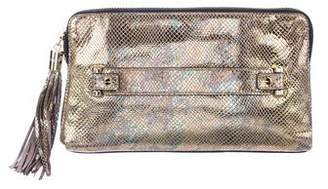 Milly Metallic El Dorado Clutch