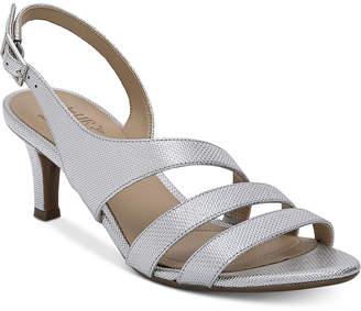 a76d3706d41d Naturalizer Silver Women s Sandals - ShopStyle