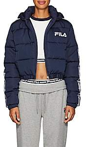 Fila Women's Adelina Crop Puffer Coat - Navy
