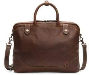 Frye Logan Leather Slim Briefcase