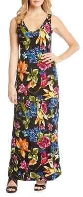 Karen Kane Botanica Print Alana Maxi Dress