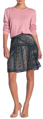 Endless Rose Lace Fit and Flare Skirt