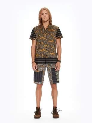 Scotch & Soda Mixed Print Hawaii Shirt | Regular fit