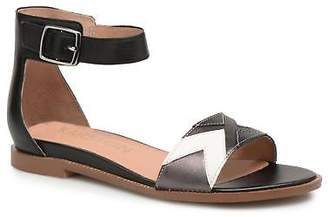 Karston Women's Sofox Strap Sandals in Black