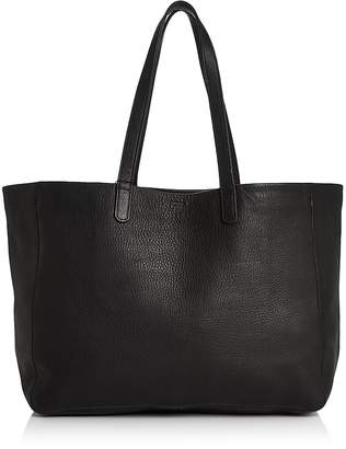 Baggu Oversize Leather Tote $280 thestylecure.com