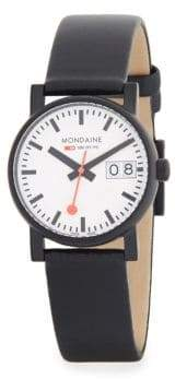 Mondaine Stainless Steel Strap Watch
