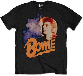Glam Rock Tee Shack Mens Retro David Bowie Official Tee T-Shirt Mens Unisex