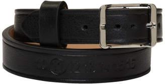 Maison Margiela Black and Silver Double Wrap Bracelet