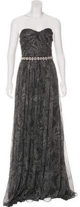 Michael Kors Silk Maxi Evening Dress w/ Tags