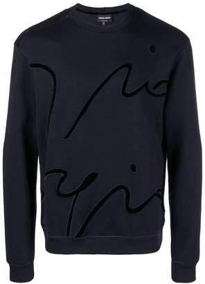 Giorgio Armani signature sweatshirt
