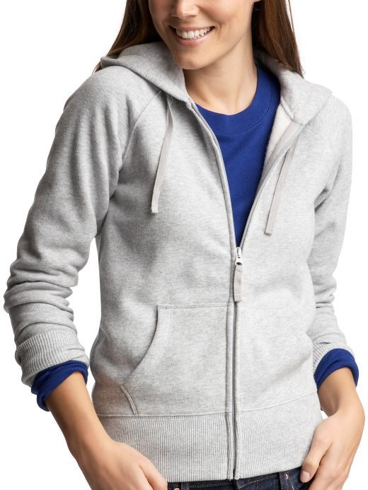 The cozy fleece hoodie
