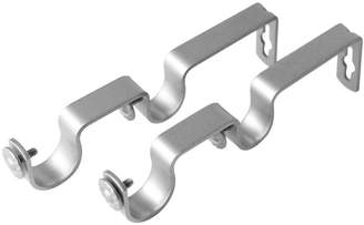 ROD DESYNE Rod Desyne 2-pk. 13/16-1 Curtain Rod Double-Wall Brackets