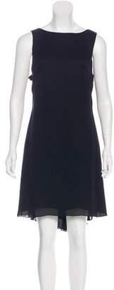 Marchesa Silk Sleeveless Dress