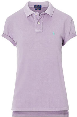 Polo Ralph Lauren Boyfriend Polo Shirt $98.50 thestylecure.com