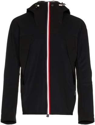 Moncler stripe hooded jacket