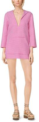 Michael Kors Gingham Wool Shorts