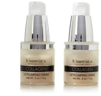 Dr. Jeannette Graf, M.D. Collagen Lip Plumping Creme Twin Pack