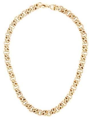Tiffany & Co. 18K Link Chain Choker