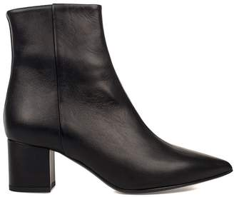 Fabio Rusconi Black Leather Style Ankle Boot