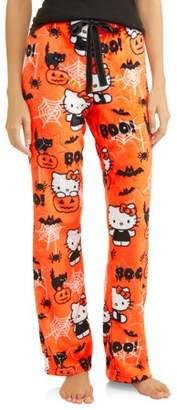 Hello Kitty Women's and Women's Plus Superminky Fleece Pajama Pant