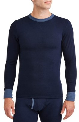 Hanes Men's 2-color Fusion Knit Crew Top