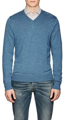 Piattelli MEN'S WOOL V-NECK SWEATER