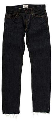Simon Miller Mid-Rise Straight-Leg Jeans w/ Tags