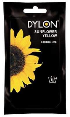 Dylon Fabric Dye - Hand Use - Sunflower Yellow