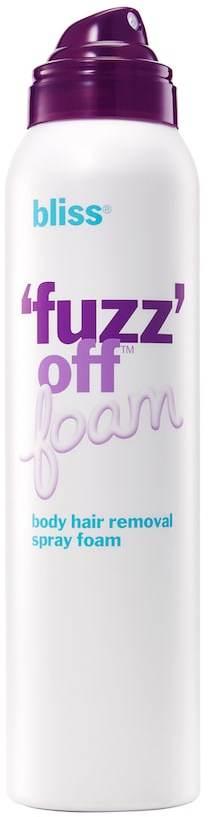 bliss 'Fuzz' Off Body Hair Removal Spray Foam - Travel Size