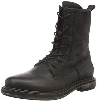 Shabbies Women's 18cm Lace up Leather Sole Rash Ankle Boots