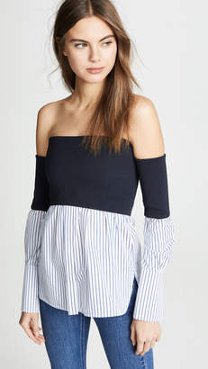 Victoria Beckham Victoria Off Shoulder Shirt