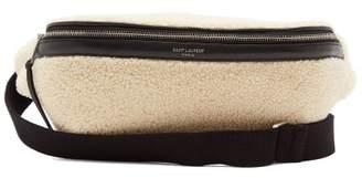 Saint Laurent (サン ローラン) - SAINT LAURENT Shearling belt bag