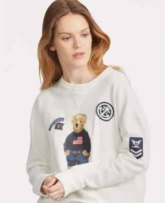 Polo Ralph Lauren Patchwork Polo Bear Pullover