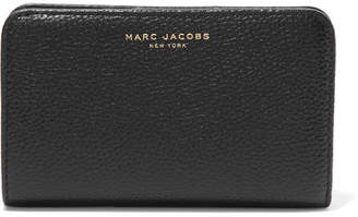 Marc Jacobs Textured-leather Wallet - Black